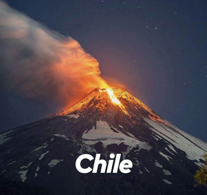 volcanes emociones viajes visitar volcan Chile